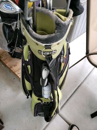 Wilson golf bag with full set of clubs  Marriott-Slaterville, 84404