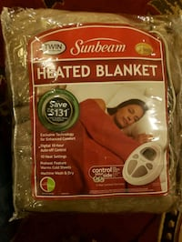 Red Heated blanket electric Buffalo, 14221
