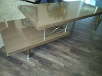 SET: Vintage Coffee Table and End Table