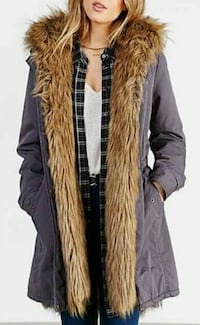Brand new with tags woman's fur jacket  Milton