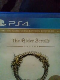 The Elder Scrolls Online PS4 game case Moriarty, 87035