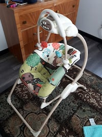 Fisher Price portable baby swing Coquitlam, V3K 4X9