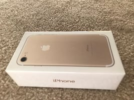 New boxed iPhone 7 locked with at&t