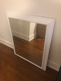 Mirror with white frame  Chevy Chase Section Three, 20815