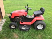 red and black ride-on mower Winchester, 22601
