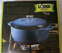 6 Qt Lodge Enameled Cast Iron Dutch Oven   Guelph, N1H
