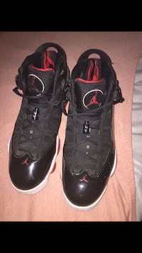 pair of black-and-red Nike basketball shoes Phoenix, 85016
