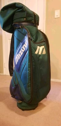 Mizuno Golf Cart Bag, Green Los Angeles, 90018