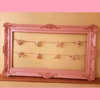 Gorgeous antique rose lustre picture clip frame.. Whitby, L1N 8X2