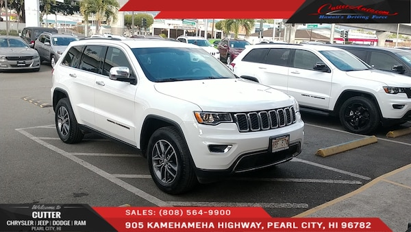 Cutter Dodge Pearl City >> Jeep Grand Cherokee 2017