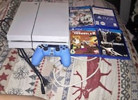 PlayStation 4 Ps4 500gb plus 4 games