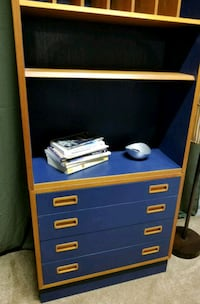 Danish bookcase with drawers Capitol Heights, 20743