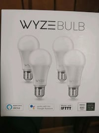 Wyze Wi-Fi Light Bulbs (Pack of 4) New York, 10018