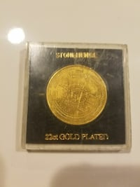 Drone 22ct gold plated coin  Mechanicsville, 20659