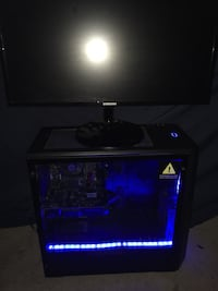 Gaming pc monitor bundle price negotiable  2335 mi