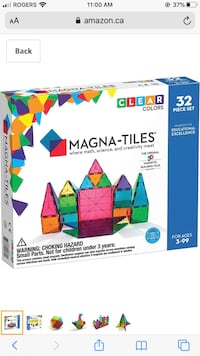Magna Tiles 32 Piece Box