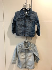 Denim Jacket and Denim shirt