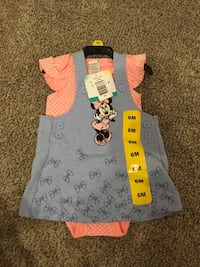 BNWT Minnie Mouse outfit