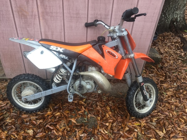 Used KTM 50cc LC Pro Senior Dirt bike for sale in Slidell