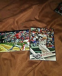 two football trading cards