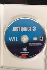 Wii Just Dance 3,4 and 2014