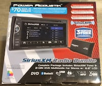 "Power Acoustik PH-620SXMB 6.2"" Double DIN DVD Player Bluetooth Sirius Waynesboro"
