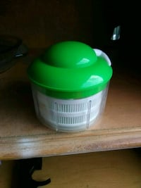 green and white plastic container Havelock, 28532