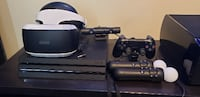 PS4 Pro Bundle with PS VR and 8 games Charlotte