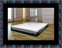 Singlesided pillowtop mattress with box spring Suitland-Silver Hill