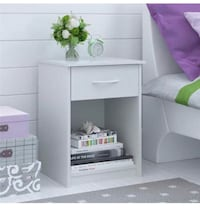 White Nightstand (Set of 2 in $39) Are News!! Houston, 77092