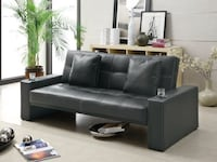 modern style living room sofa bed with cup holders! BRAND NEW!!  Dallas, 75246
