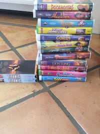 Moving - Reduced - Assorted VHS Tapes $1 each  Calabasas, 91302