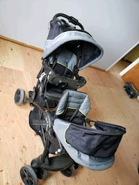 baby's black and gray stroller Jersey City, 07306