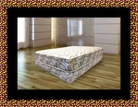 Queen plush 2pc mattress and box spring Takoma Park