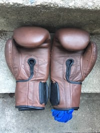 like new boxing gloves and wrap Toronto, M6H 3E8