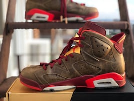Air Jordan retro 6 Cigar
