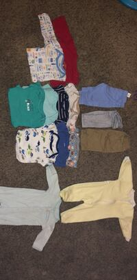 baby boy clothes  3  and 3-6 San Angelo, 76903