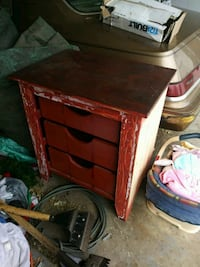 Sturdy old drawer cabinet