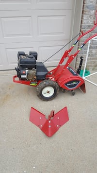 Tiller with blade /plow.   Like new!!! Jackson