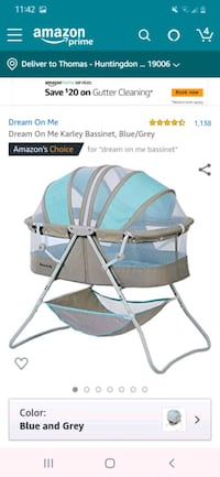 New Dream on me Bassinet  Montgomery County, 19006