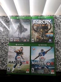 xbox one games x4 French Camp, 95231