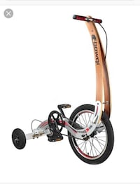 Folding bicycles without seat