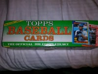 Complete 1990 topps cards Reno, 89501