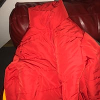 Forever 21 red jacket size LA/CA-reconditioned  Washington, 20019