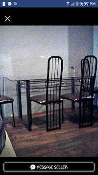 Kitchen table & 4 chairs  Winnipeg, R3B 2S6