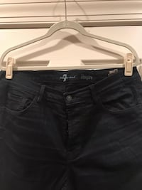 7 For All Mankind Rhigby Coated Denim Jeans For Men Aldie, 20105