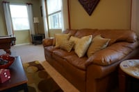 Leather Sofa Set (w sleeper bed) Apopka