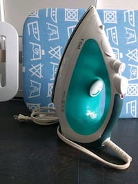 Tfal steam iron + Large ironing board Toronto, M5B 1E4