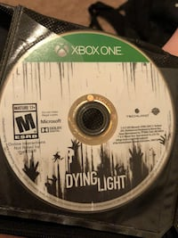 Xbox One Dying Light game disc