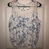 Floral Lace Tank Boonsboro, 21713